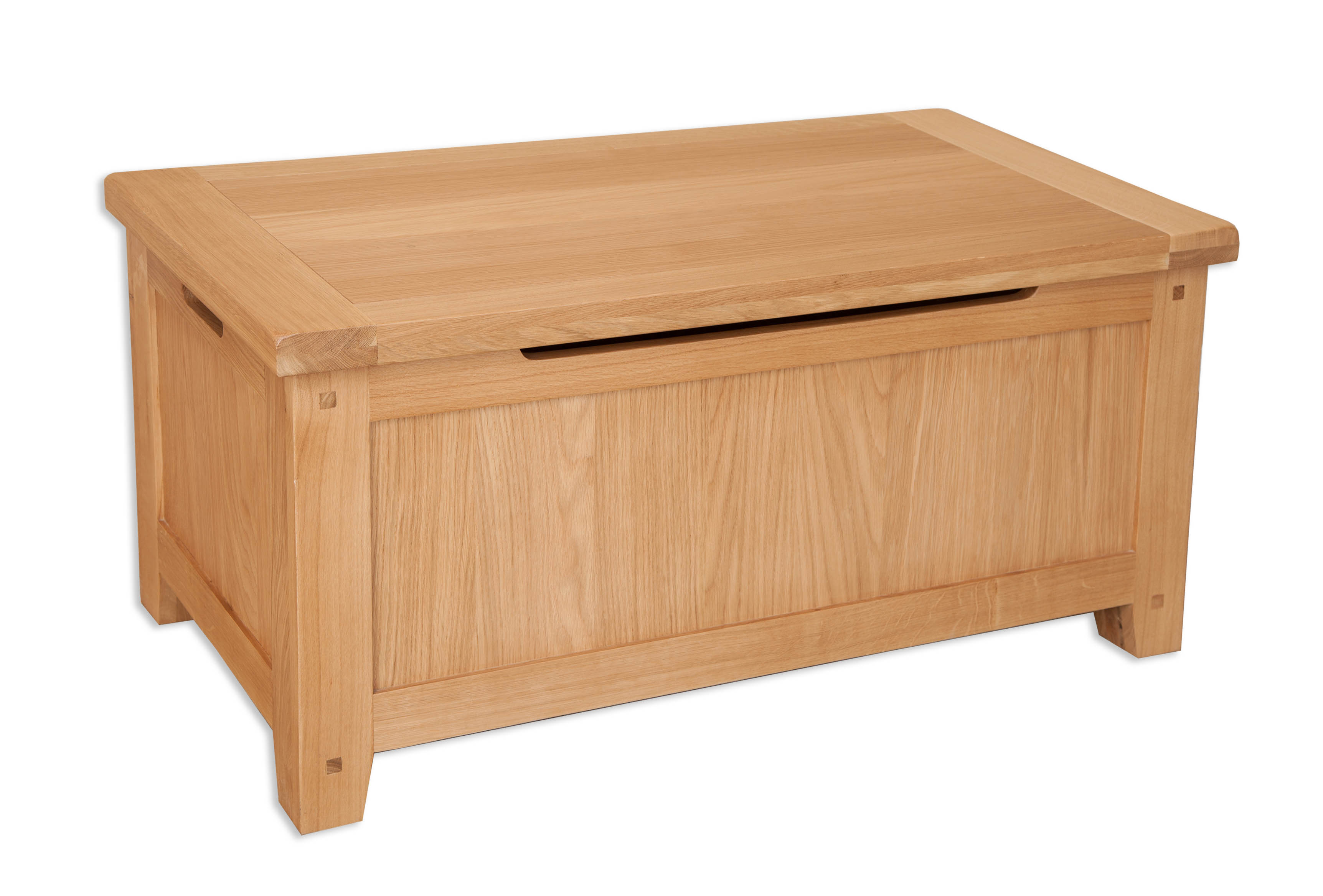 Chelsea Natural Oak Blanket Box Bedroom Collection Homesmile