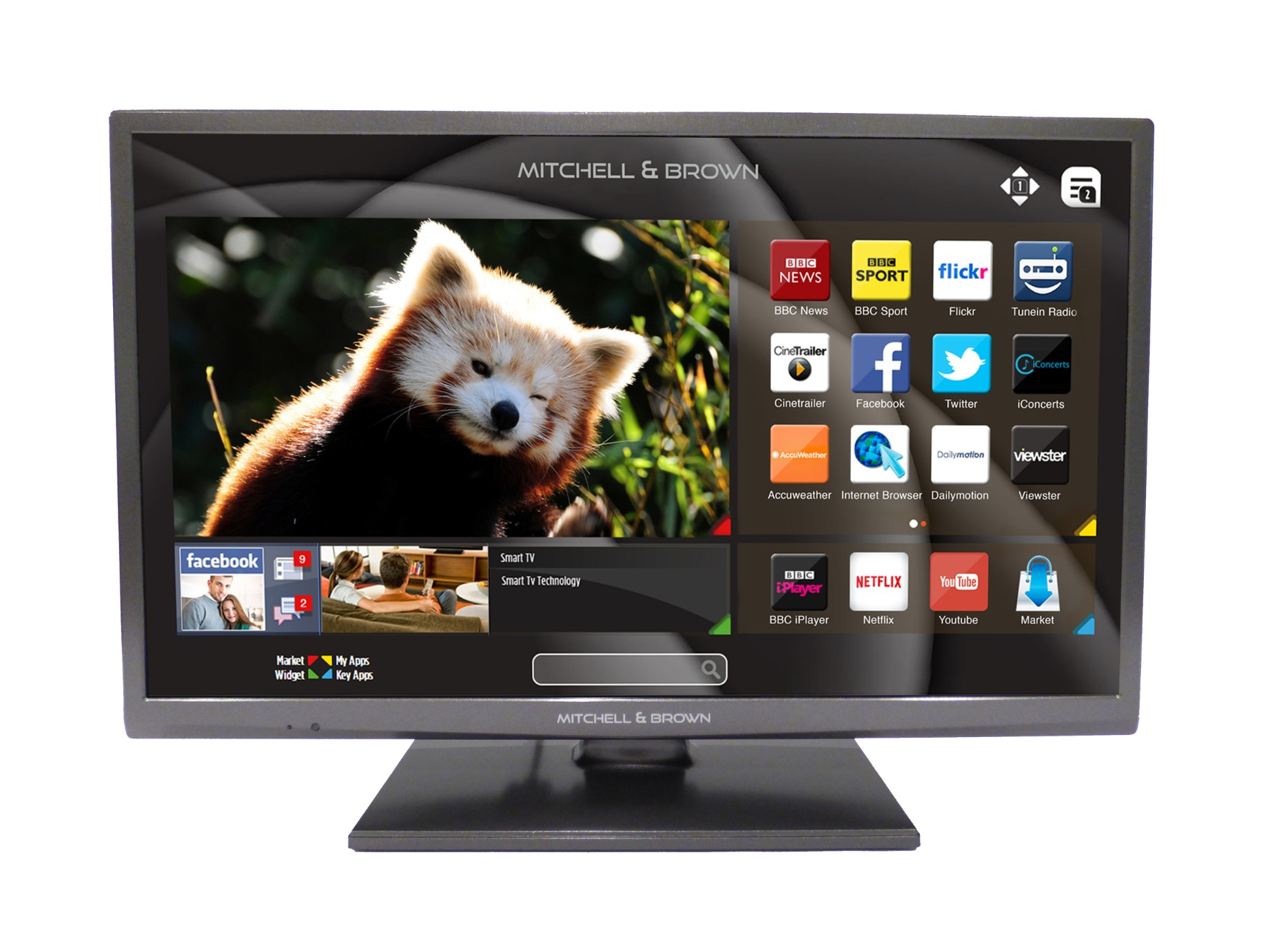 Mitchell and Brown 43inch Smart TV