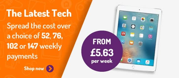 iPad's from £5.63 per week