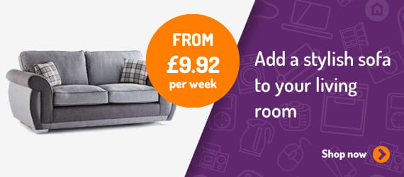 Sofas from £9.92 per week